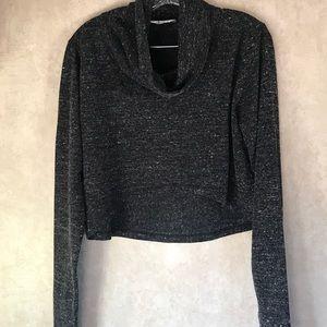 CAbi Shrug Grey Sweater Size Large
